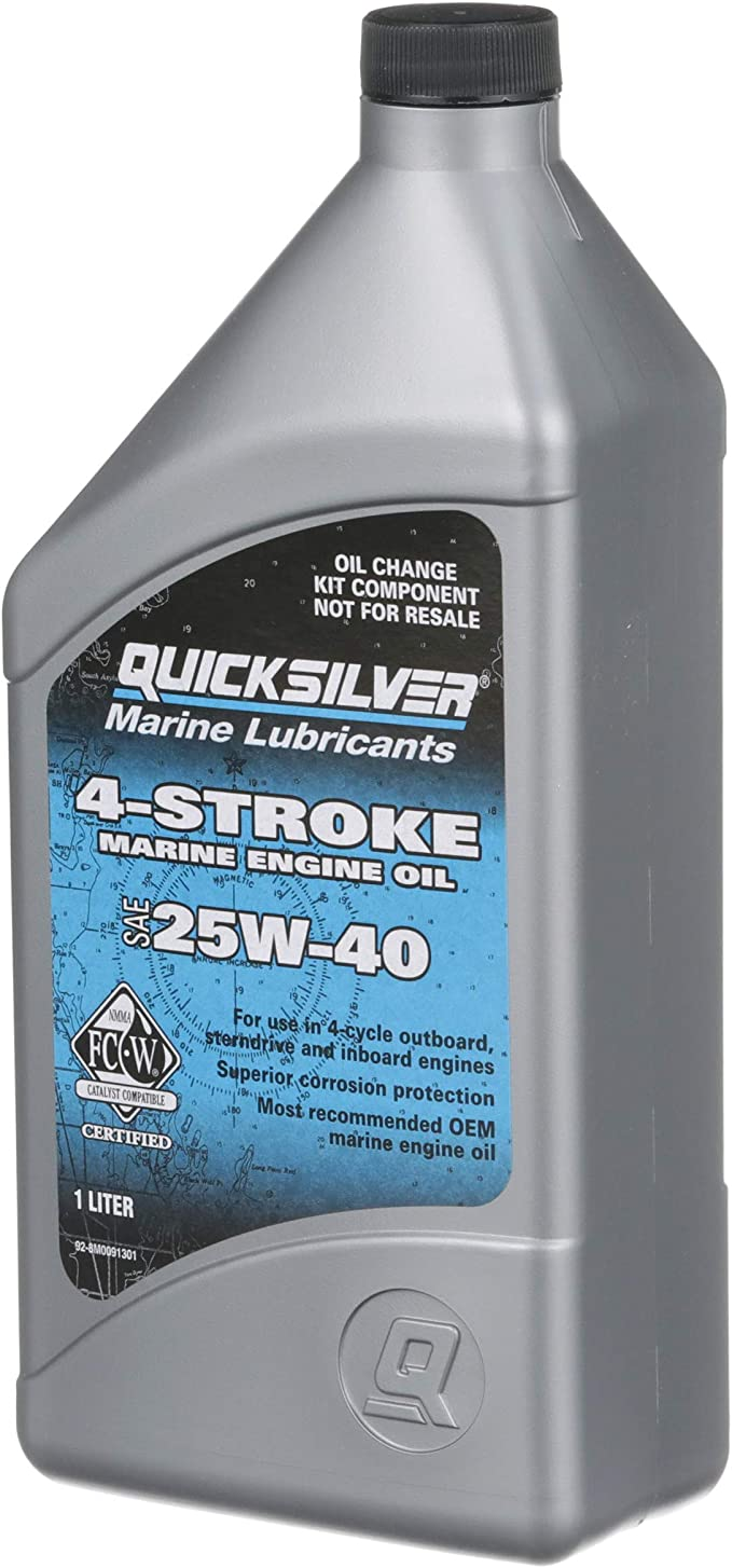 Amazon.com: Quicksilver Kit de cambio de aceite EFI de 4 ...