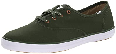 4327a134a61 Keds Champion Micro Dot Lace Women 9.5 Forest Green