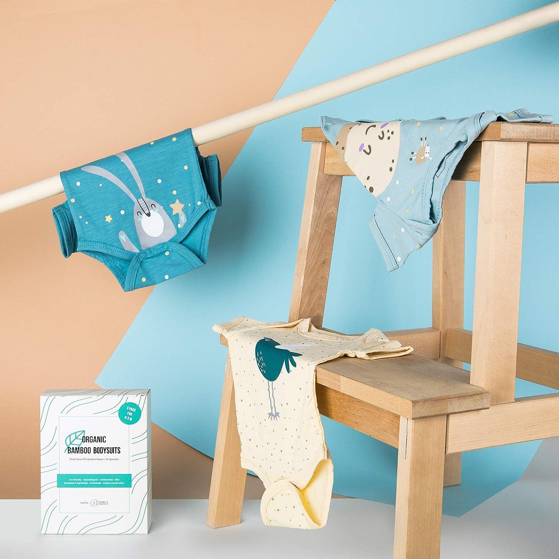 SIMMA Body para Recién Nacidos, para Niños o Niñas, Pack De 3 Ropa ...