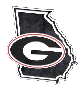 Amazon Georgia Bulldogs Georgia State Outline With Georgia G