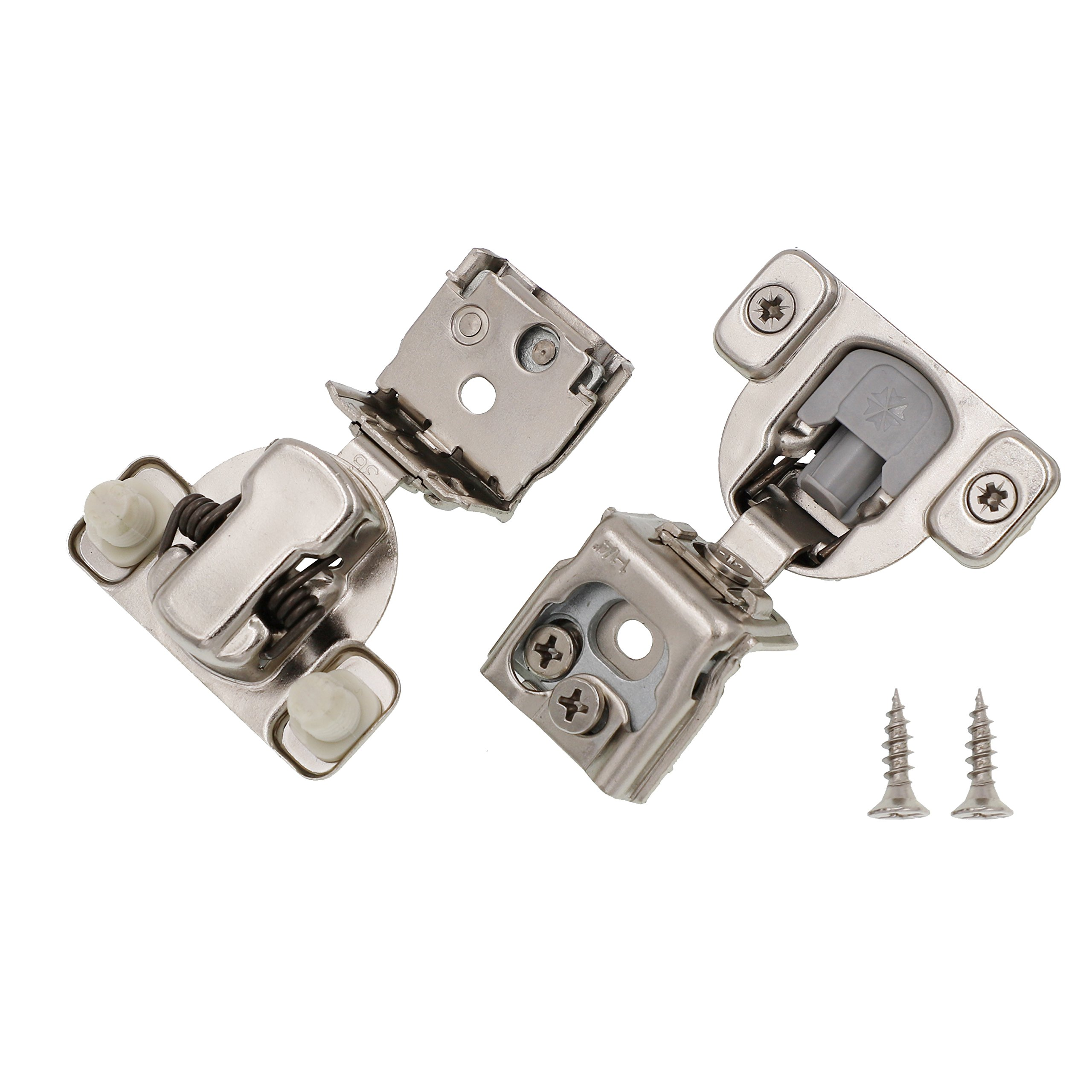 1-1/4'' Overlay Soft Close Face Frame 105° Compact Cabinet Hinge (40)