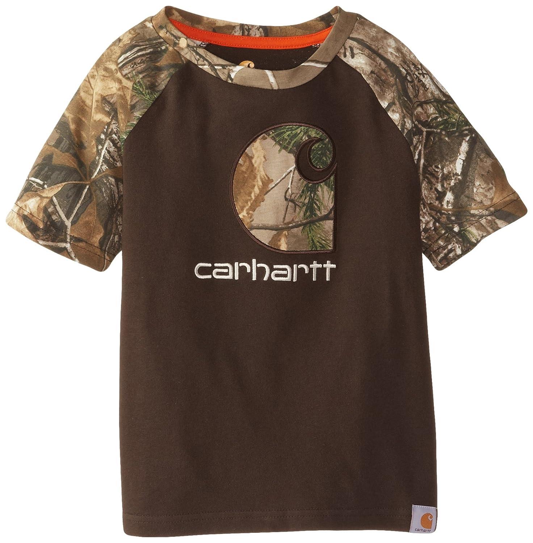 Carhartt Little Boys CB Camo C Raglan Tee