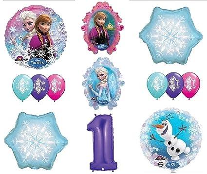 Amazon.com: loonballoon Frozen Anna Elsa Olaf Muñeco de ...