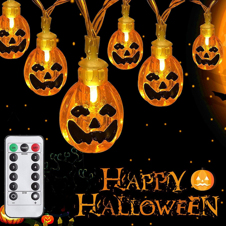 WesGen Halloween Lights Battery Operated Halloween