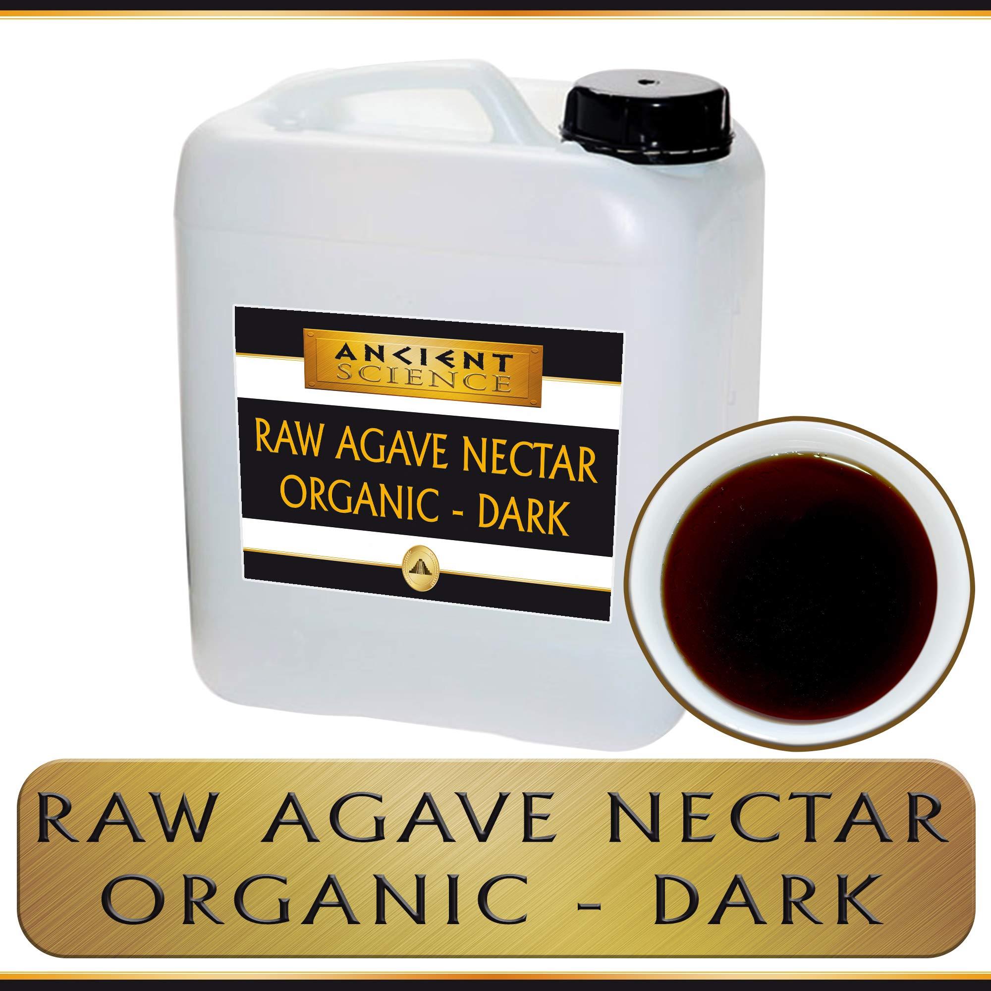 Bulk Raw Agave Nectar Organic - DARK - 5 Gallon Wholesale Supplier - Kosher