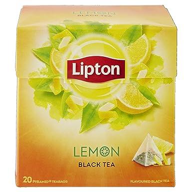 Bolsas de té Lipton | Limón | 34gr / 1.2oz - 20 Bolsas