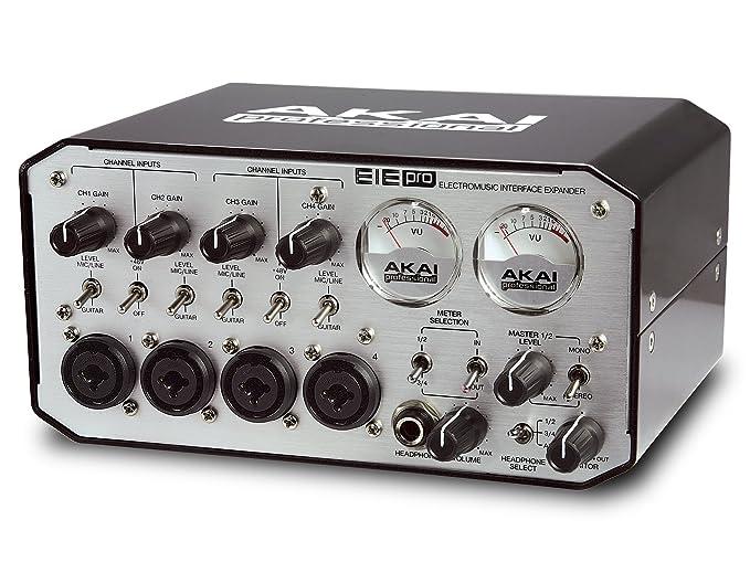 8 opinioni per AKAI Professional EIE Pro Interfaccia Audio MIDI Professionale, 24 bit con Hub