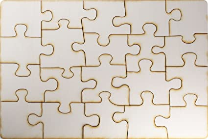 Blank Puzzle: Amazon.co.uk