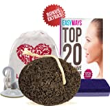 Pumice Stone - #1 Finest Natural Lava Pumice - Gift Set Bundle - 2 FREE Bonus Extras - Callus Remover - Home Pedicure Exfoliation - Pumice Stone For Feet Hands and Body