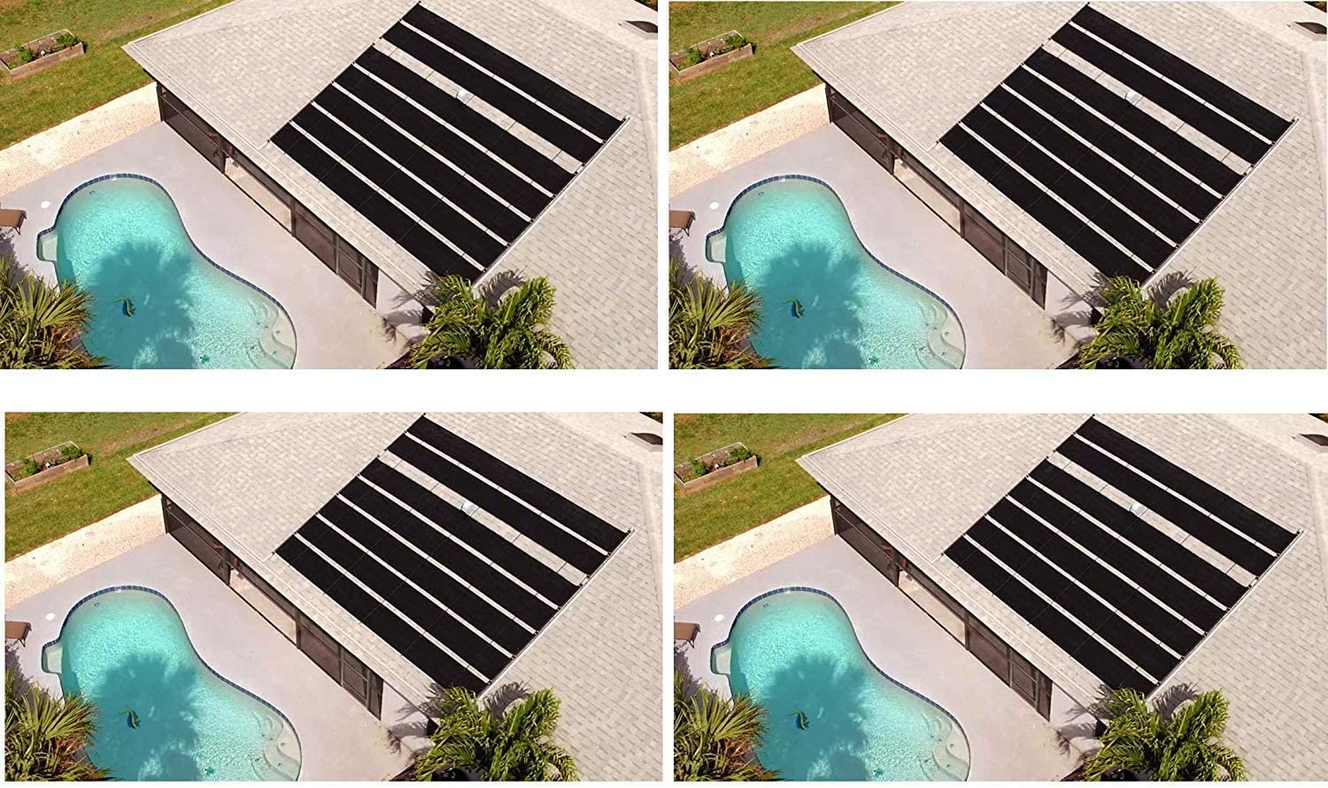 SmartPool S601P SunHeater Solar Heating System for In Ground Pool Pack of 2