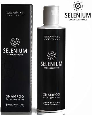 Selenium Professional Comestics Natural Organic Shampoo
