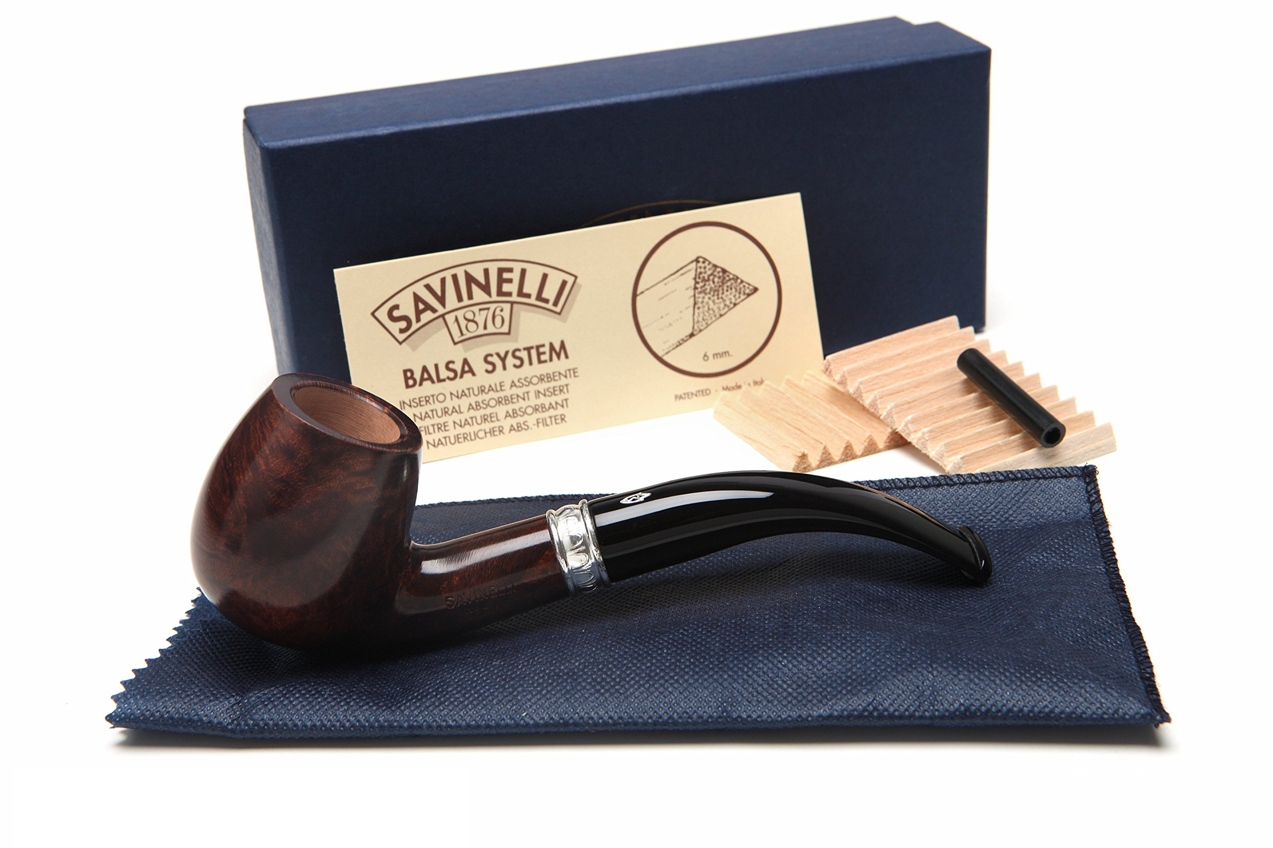 Savinelli Trevi Smooth 602 Tobacco Pipe by Savinelli