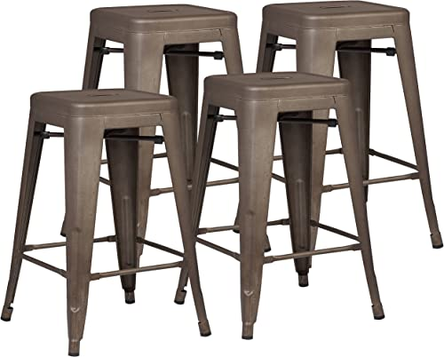 EdgeMod Trattoria 24″ Counter Height Stool