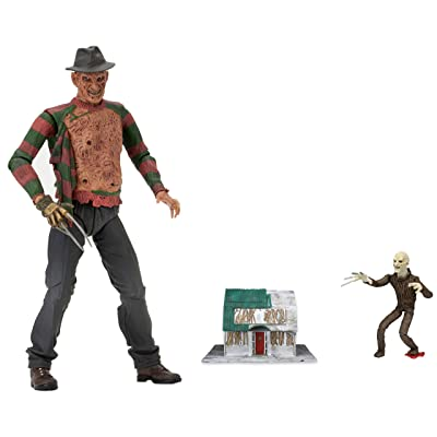 """NECA Nightmare on Elm Street Ultimate Dream Warriors Freddy Action Figure (7"""" Scale): Toys & Games"""