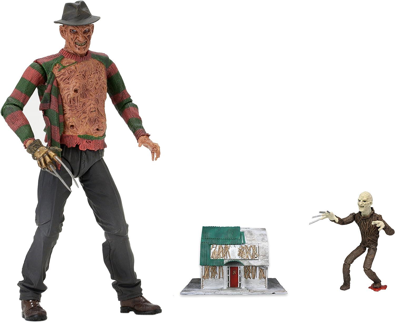 "NECA Nightmare on Elm Street Freddy Krueger classico Videogioco Figura 7/"" NUOVO"