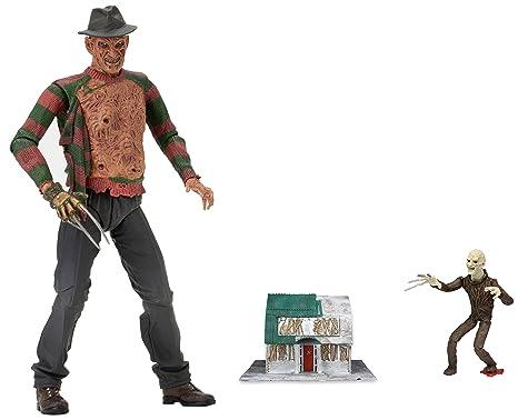 "Neca Freddy Krueger A nightmare on Elm Street 30th Anniversary 7/"" action figure"