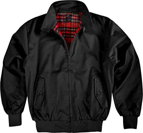 Chaqueta English Style/Harrington/Puños/Cuadros Forro S - 5 ...
