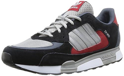 adidas ZX 850, Scarpe Sportive, Uomo, Multicolore (C Black/SILVMT/