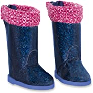 Glitter Girls by Battat – Rainy Day Shine Shoes Accessory Set – 14-inch Doll Clothes and Accessories for Girls Age 3 and Up