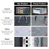 Lifewit Clothes Storage Bag Organizer with