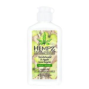 Hempz Sandalwood & Apple Herbal Shave Gel, 6 oz.