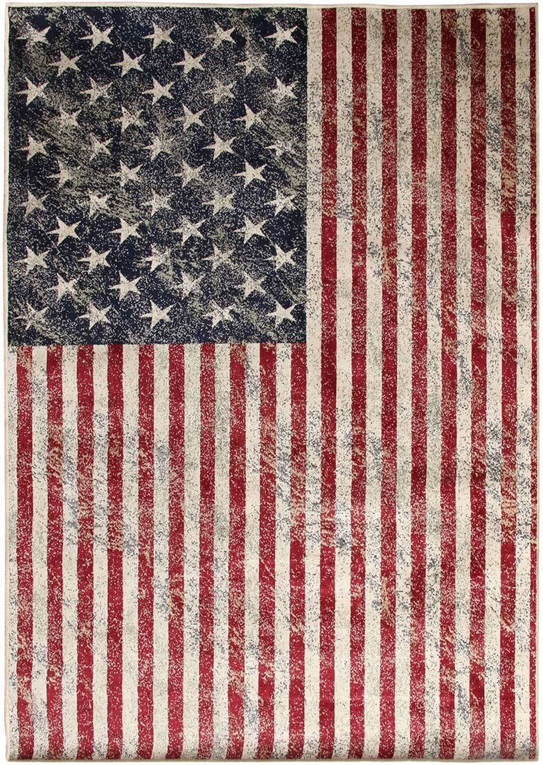 Alfombra moderna Pop Rock USA – 135 x 195 cm M060: Amazon.es: Hogar