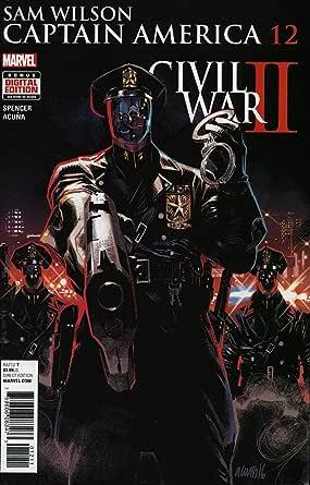 Marvel Comics #13A NM Captain America: Sam Wilson