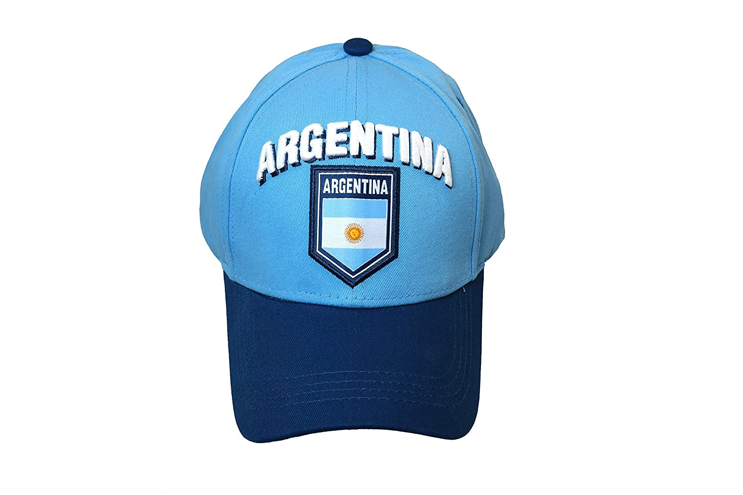 RHINOXGROUP Argentina Soccer Team Authentic Official Licensed Soccer Cap One Size 001