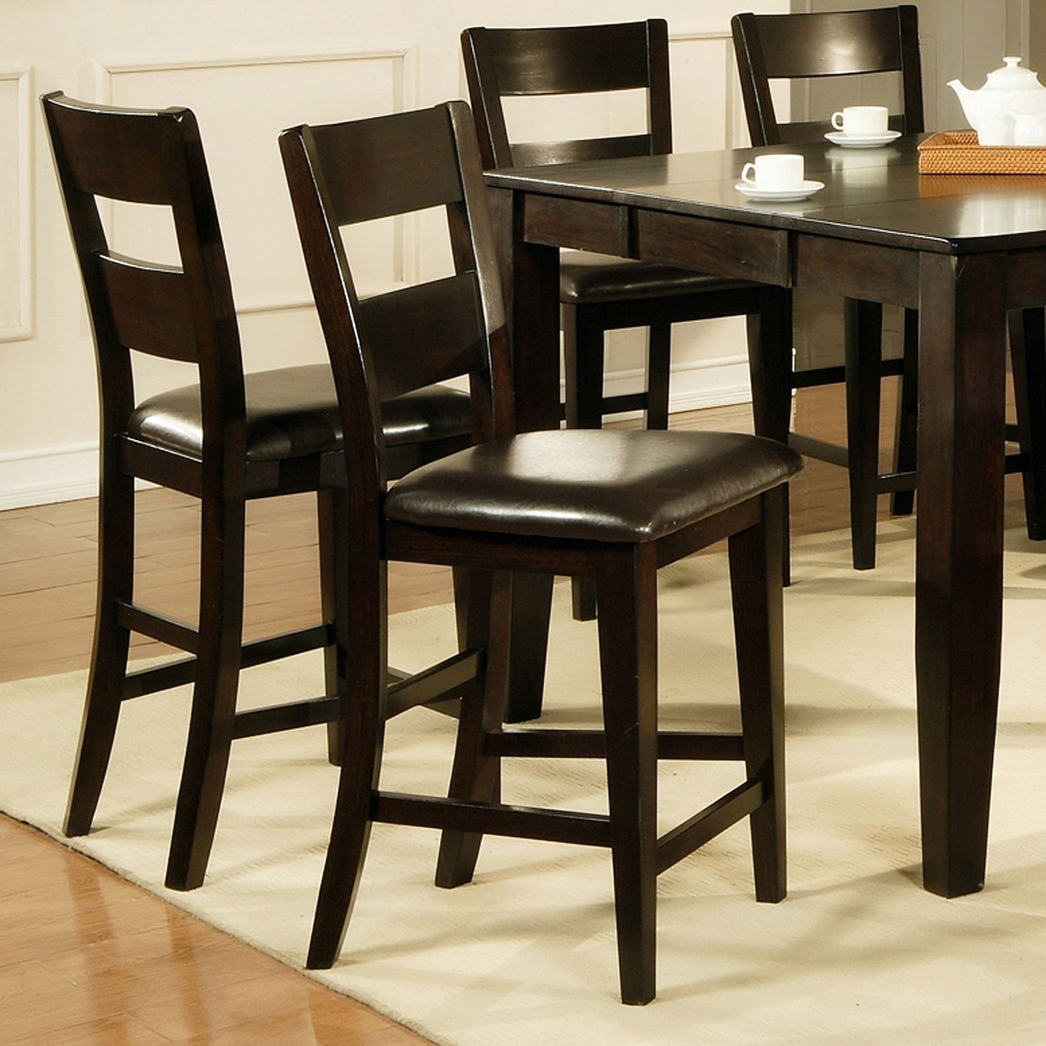 Marvelous Weston Counter Height Chairs Espresso 2 Pk Amazon Ca Home Interior And Landscaping Ologienasavecom