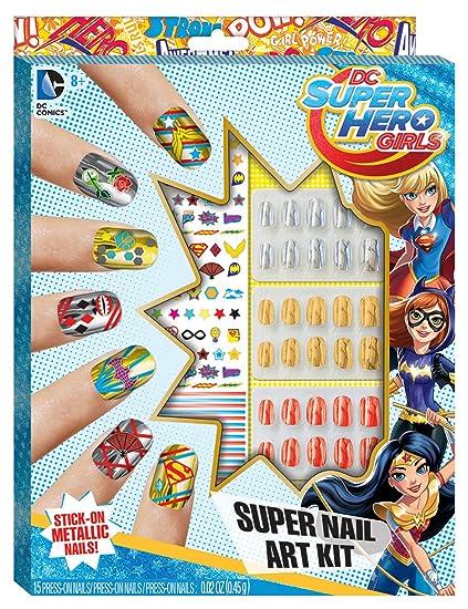 DC Superhero Girls Super Nail Art Kit - Amazon.com: DC Superhero Girls Super Nail Art Kit: Toys & Games