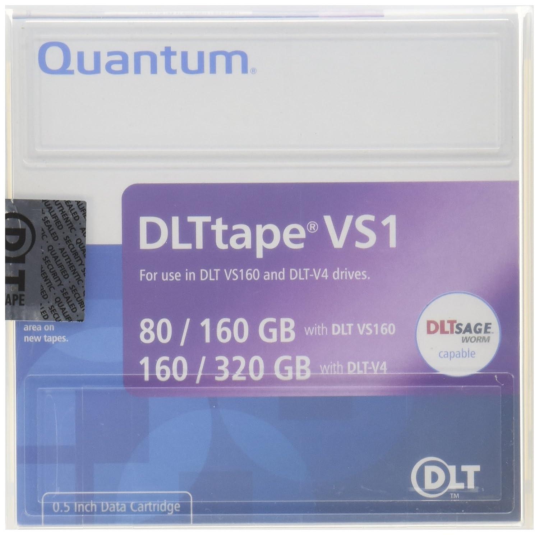 Quantum 1pk VS160 80/160GB DLT-V4 160/320GB Tape Catridge (MR-V1MQN-01 ) Quantum Eide Blank Media & Cleaning Cartridges