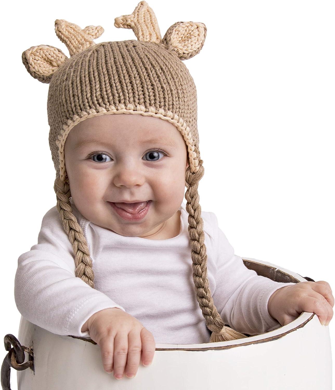 Huggalugs Baby and Toddler Moose Bear Buck Doe Camping Outdoors Beanie Hats Pants or Legwarmers