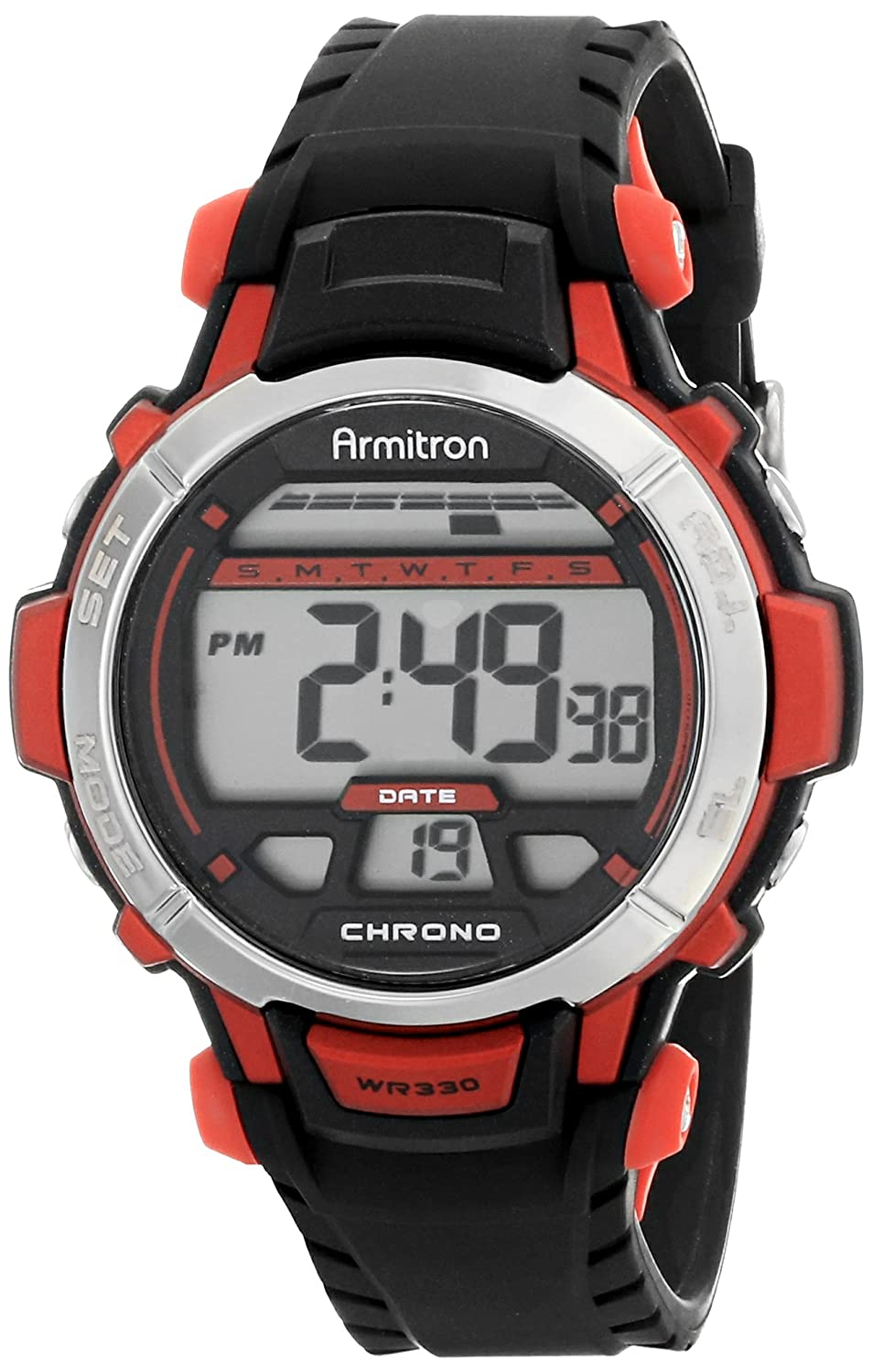 Amazon Armitron Sport Womens 457036red Red Accented Black