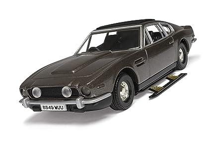 Corgi® CC04804 James Bond Aston Martin V8 Vantage Volante The Living Daylights Modelo Coche, Escala 1:36: Amazon.es: Juguetes y juegos