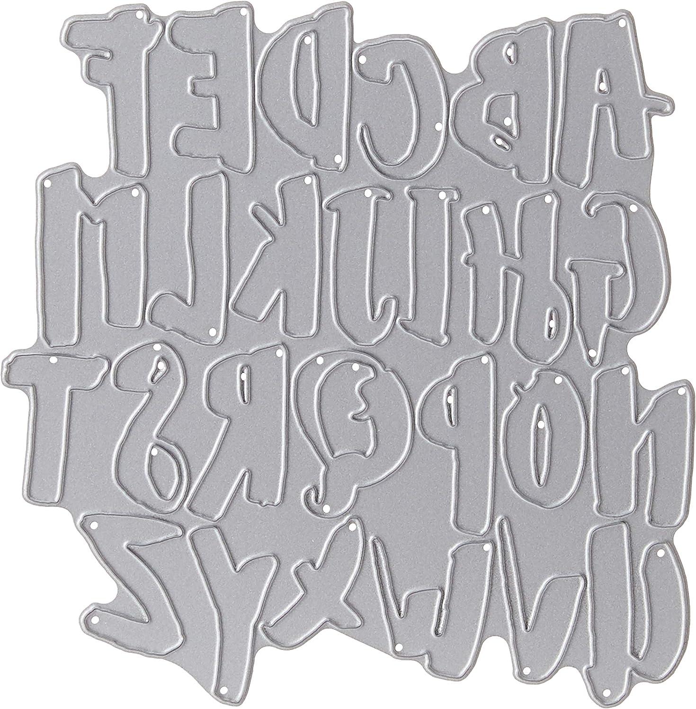 Echo Park Paper 538288 Dies Lindsay Lowercase Alphabet