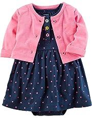 Carter's Baby Girls' 2 Piece Dress Set 121g035