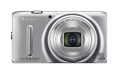 Nikon COOLPIX S9500 Wi Fi Digital Camera With 22x Zoom And GPS Silver
