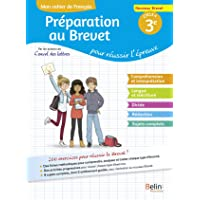 Mon cahier de français 3e : Préparation au brevet pour réussir l'épreuve