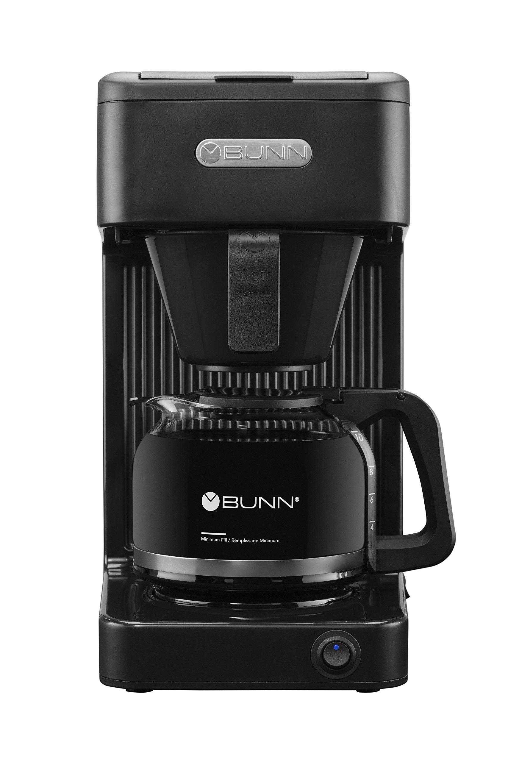 BUNN-O-MATIC CSB1 Speed Brew Select Bunn 10C Brewer Coffee Maker, 10-Cup, Black by BUNN-O-MATIC