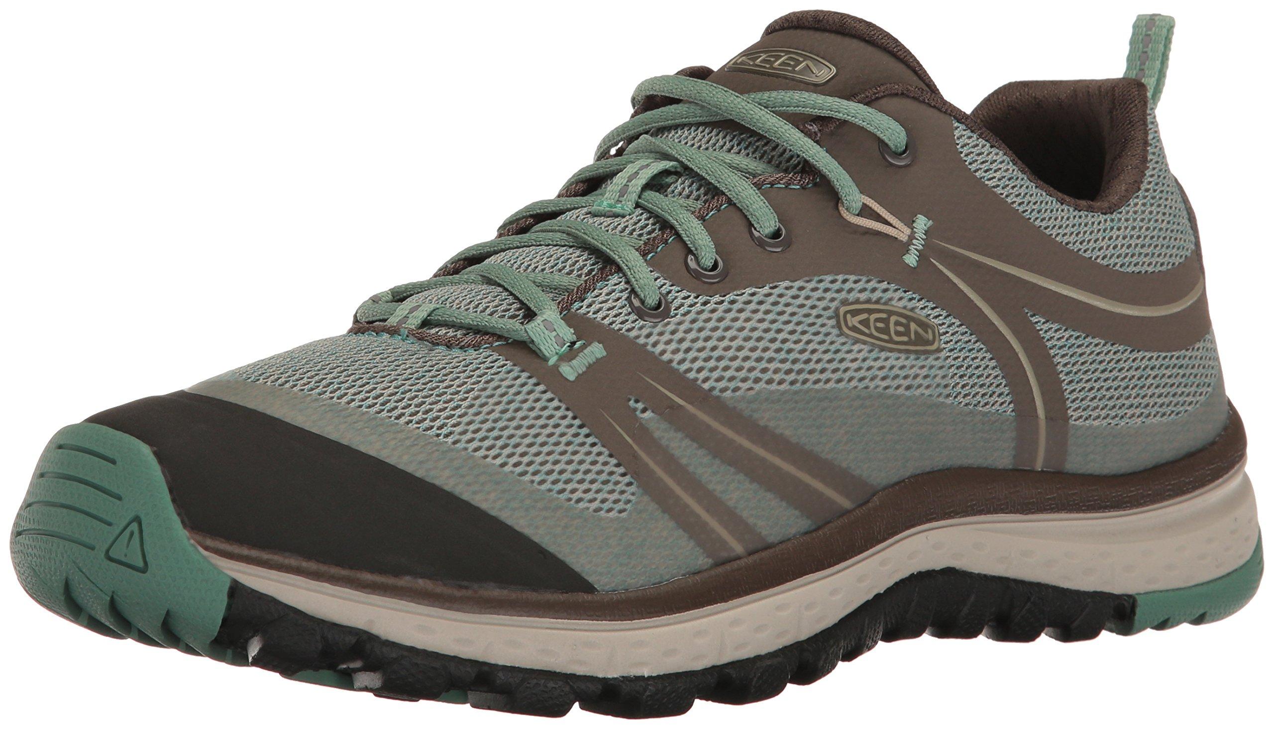 KEEN Women's Terradora Hiking Shoe, Radiance/Goat, 10 M US