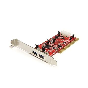 Amazon.com: StarTech. com Tarjeta Adaptadora PCI de 2 ...