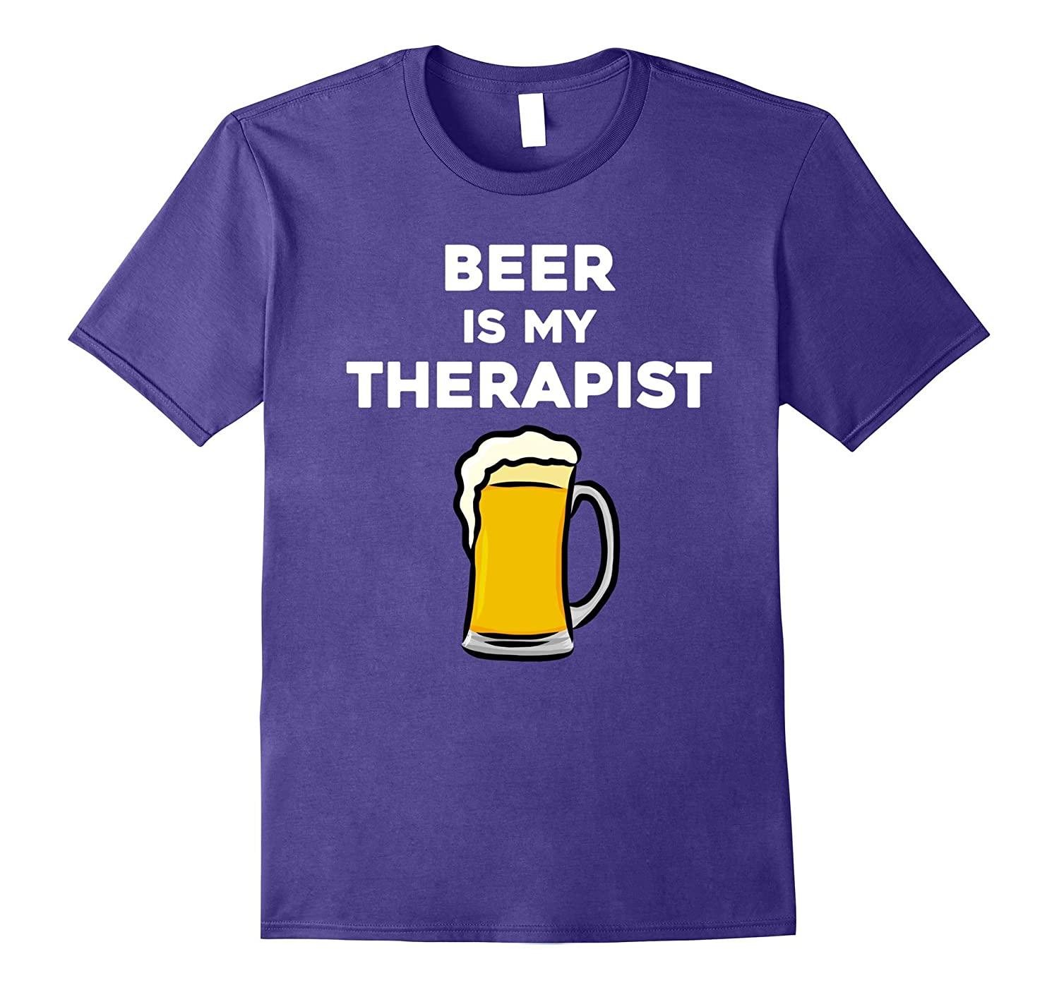Beer Is My Therapist I Love Beer Counsellor Beer Happy Hour-TJ