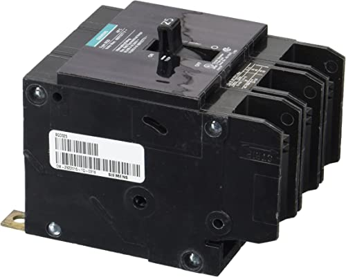 Siemens BQD325 25-Amp Three Pole 480Y 277V AC 14KAIC Bolt in Breaker