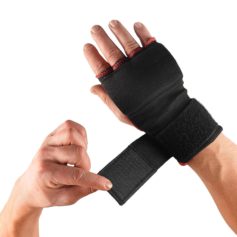 para boxeo Pro Impact artes marciales mixtas o muay thai f/áciles de usar XL ajuste adaptable, 1 par Vendas para las manos para proteger pu/ños y mu/ñecas