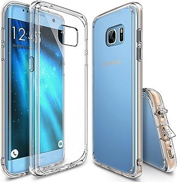 Ringke Funda Galaxy S7 Edge, [Fusion] Choque Absorción TPU ...