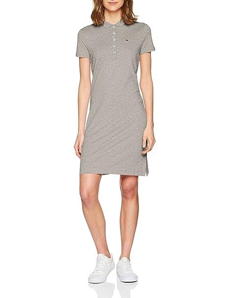 f102c3b8954 Tommy Hilfiger Women's's Chiara Str Pq Polo Dress Ss Shirt: Amazon.co.uk:  Clothing