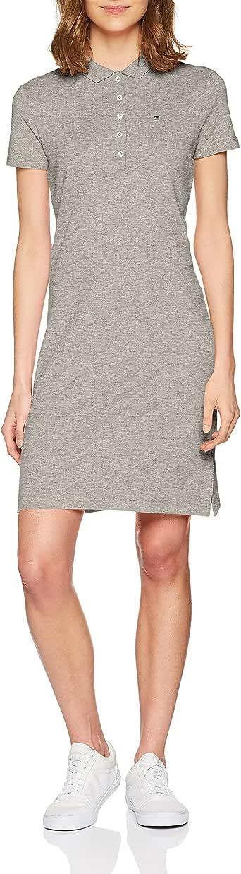 Tommy Hilfiger Chiara Str Pq Polo Dress SS Mujer: Amazon.es: Ropa ...