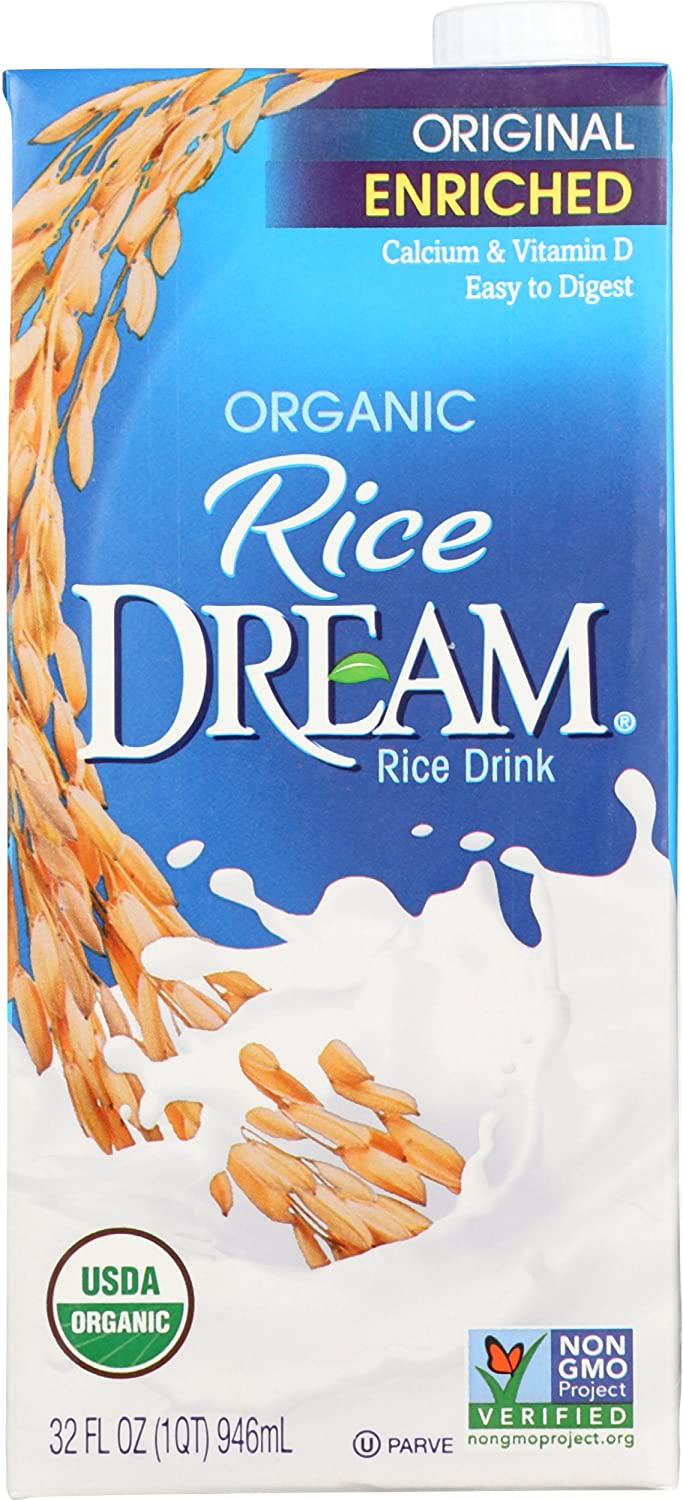 RICE DREAM Enriched Original Organic Rice Drink, 32 Fluid Ounce ( Packaging May Vary )