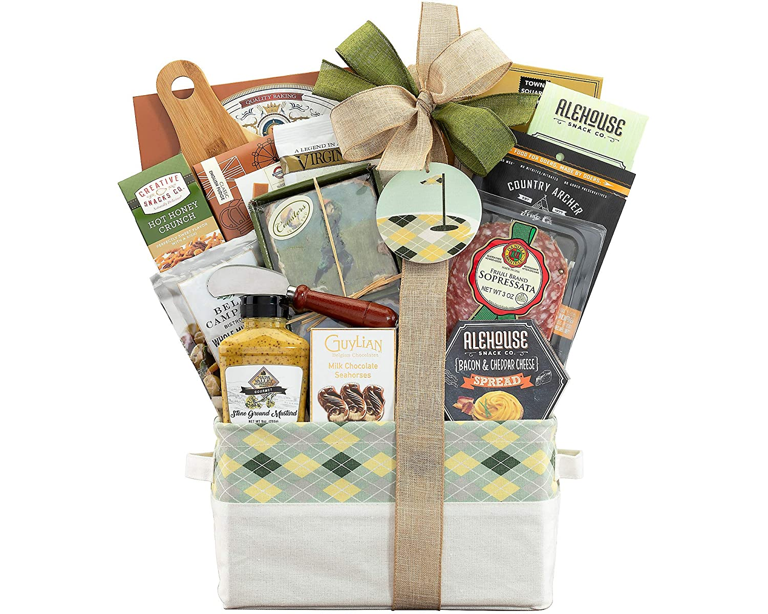 Golf Gift Basket - The Hole in One Golf Gift Basket by Wine Country Gift Baskets