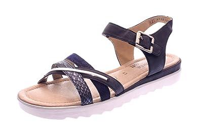 Damen Blau Remonte 404480 Sandaletten 14 D1151 mw80Nvn
